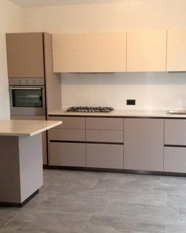 Cucina laccato opaco