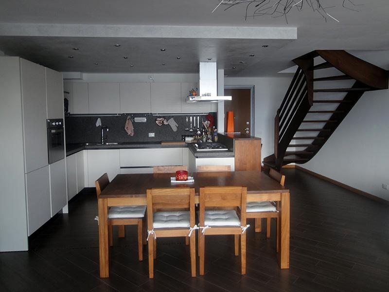Cucina laccata bianco