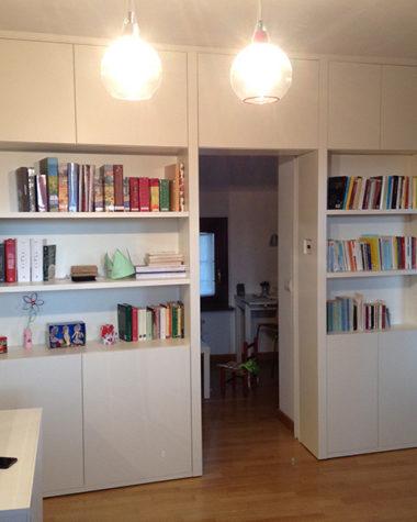 Libreria a misura per nicchia